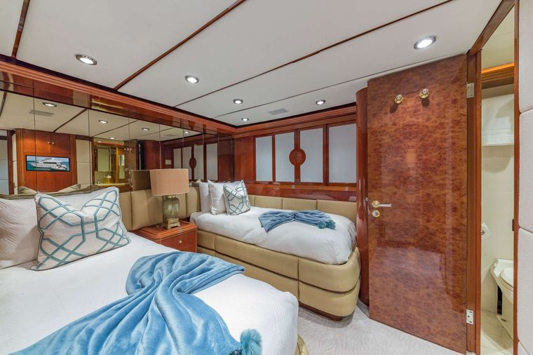 QUINTESSA Yacht Charter - Twin Guest Stateroom