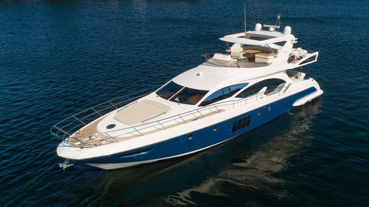 LUPO Yacht Charter - Ritzy Charters