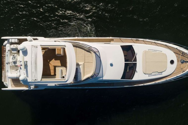 LUPO Yacht Charter - Aerial Shot