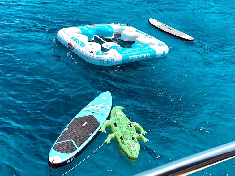 ALL WE NEED Yacht Charter - Toys