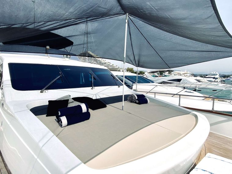 ALL WE NEED Yacht Charter - Front deck