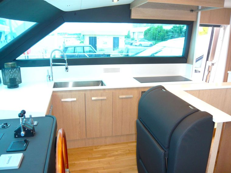 ALL WE NEED Yacht Charter - Galley