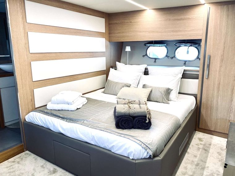 ALL WE NEED Yacht Charter - Master cabin