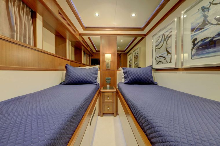 UNCORKED Yacht Charter - Port Twin Stateroom other