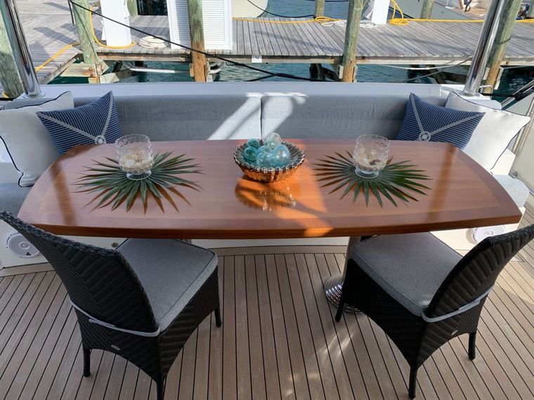 UNCORKED Yacht Charter - Aft Deck Other