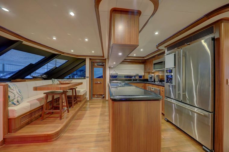 UNCORKED Yacht Charter - Dinette / Galley