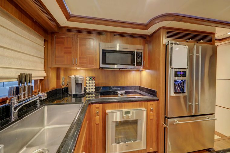 UNCORKED Yacht Charter - Galley