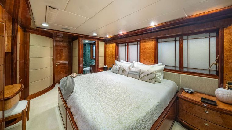 LADY LEILA Yacht Charter - Guest cabin