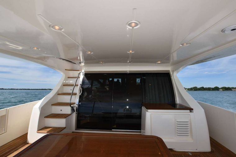 RESERVE Yacht Charter - Stern Table