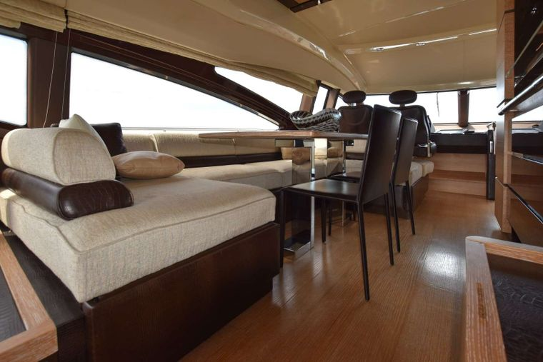 RESERVE Yacht Charter - Dining Area