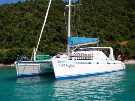 FREE INGWE Yacht Charter - Ritzy Charters