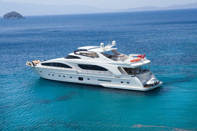 MERVE Yacht Charter - Ritzy Charters
