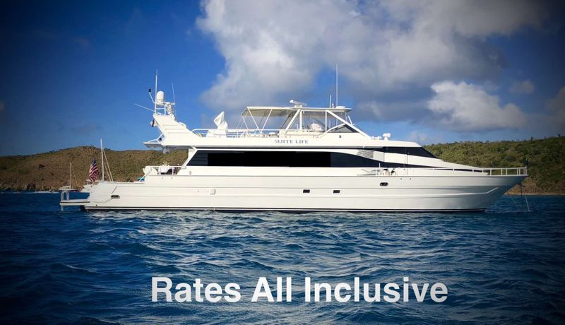 SUITE LIFE Yacht Charter - Ritzy Charters