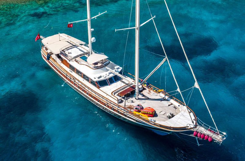 DOUBLE EAGLE Yacht Charter - Ritzy Charters