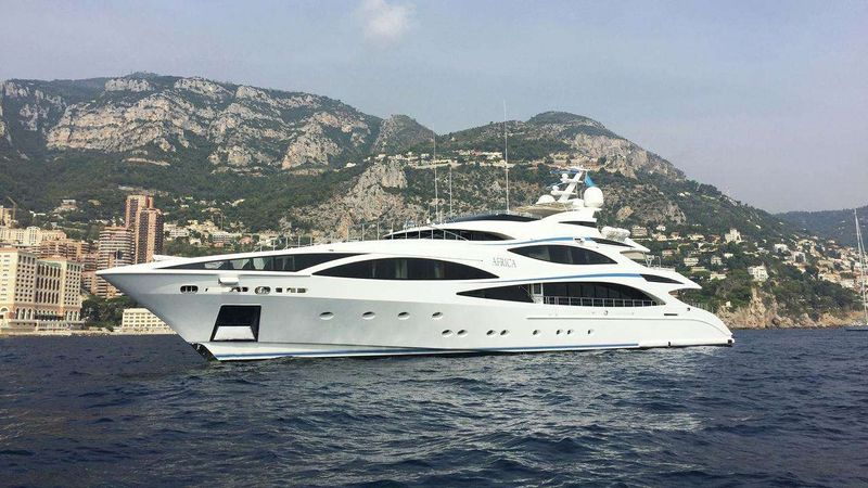 AFRICA I Yacht Charter - Ritzy Charters