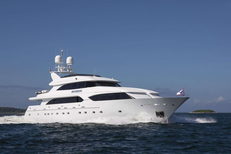INVISION Yacht Charter - Ritzy Charters
