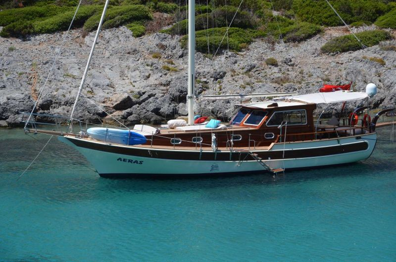 Aeras Yacht Charter - Ritzy Charters